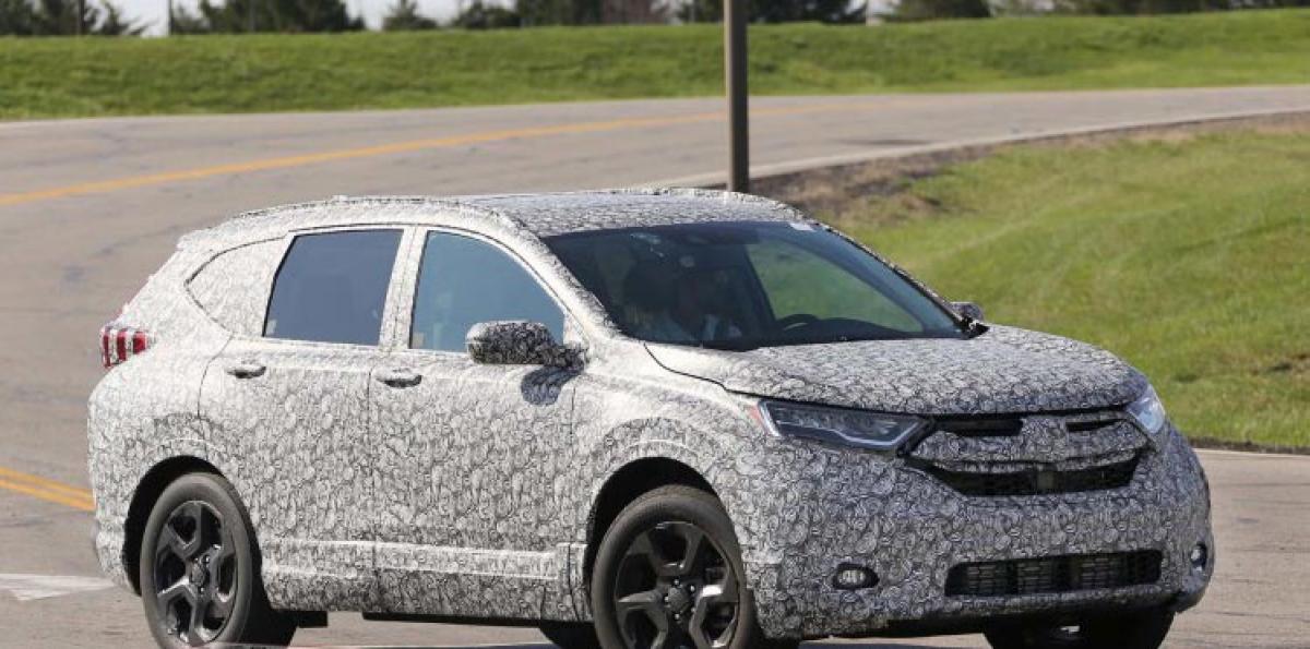 Next-Gen Honda CR-V Spied