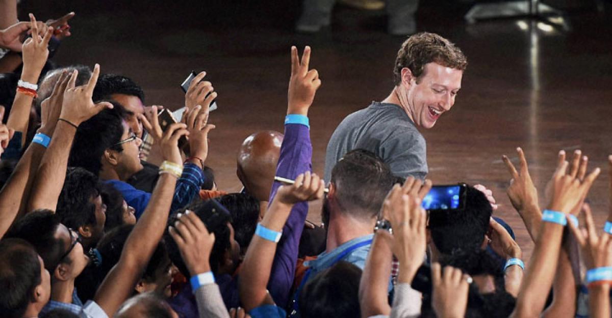 No world without India: Zuckerberg