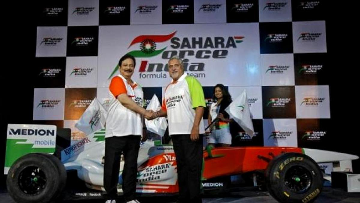 Saharas mulls sale of stake in Force India