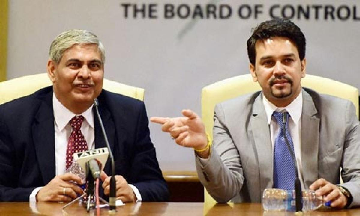 Manohar influencing ICC against BCCI: Thakur