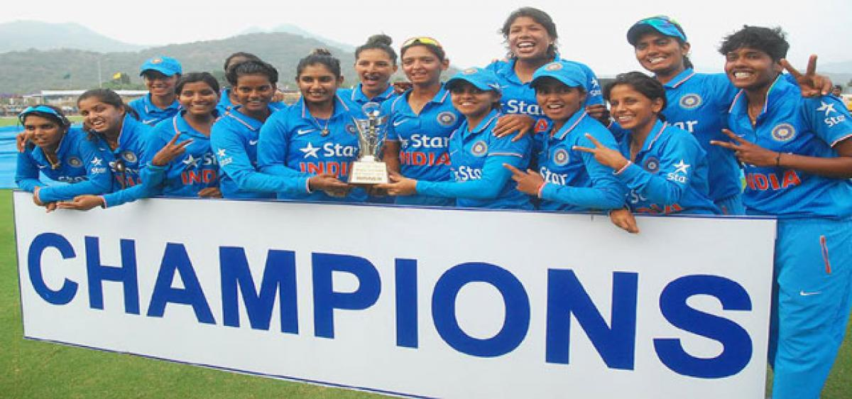 Indian eves complete clean sweep