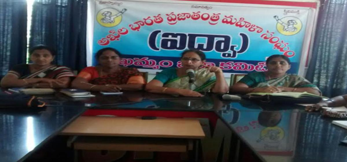 Alcohol killing  youngsters: AIDWA