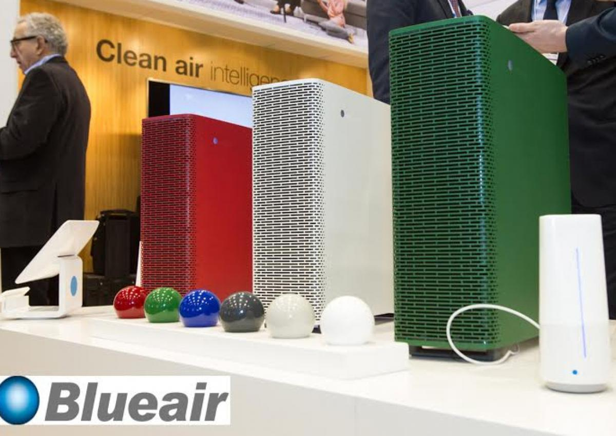Blueair's High-tech Indoor Air Purifiers Makes Strong Show at IFA 2015