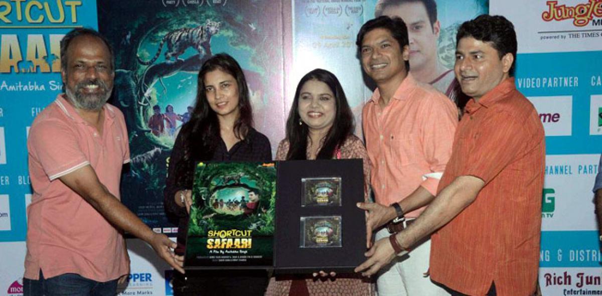 SHORTCUT SAFAARI Music Launch: Shaan & Sadhana Sargam spread smiles!