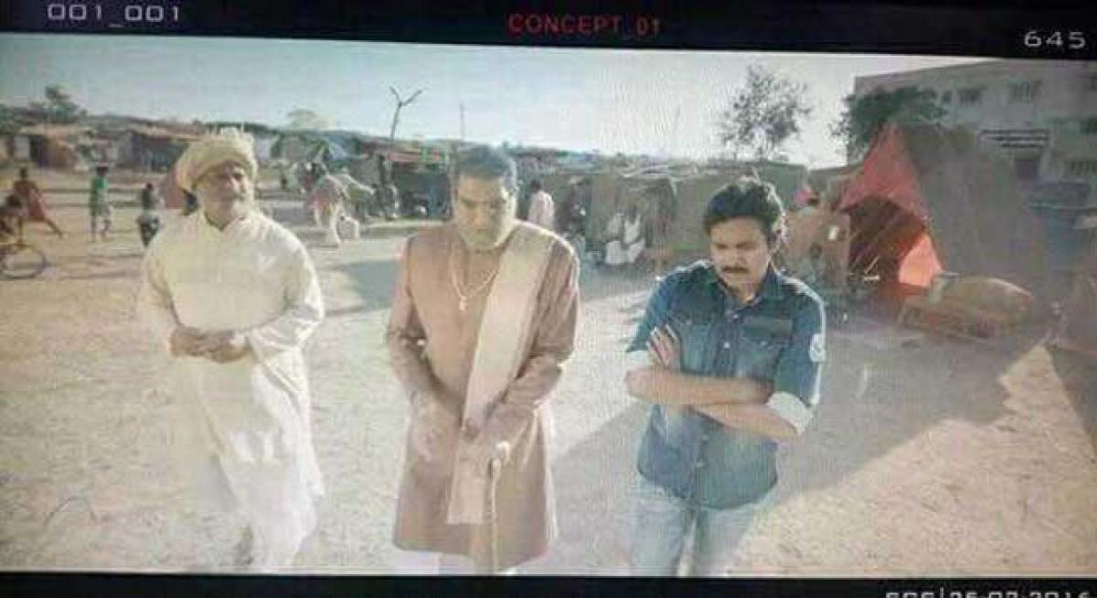 Pawan Kalyan is left fuming after picture leak
