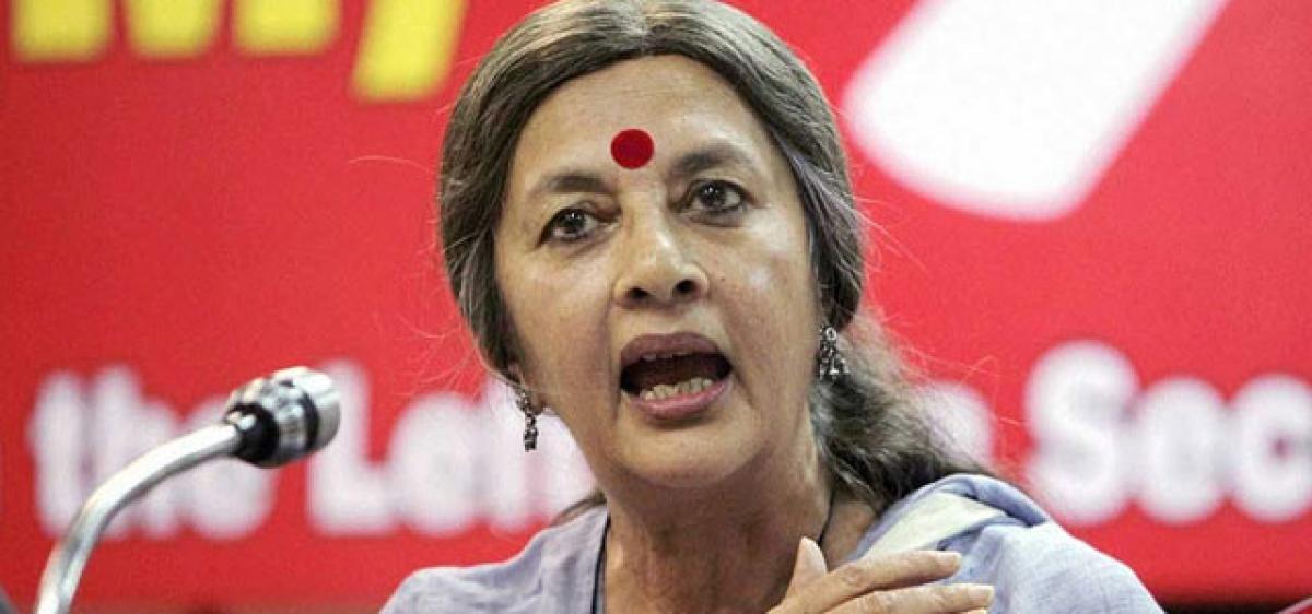 TRS adopting Modi's neo-liberal policies: Brinda Karat
