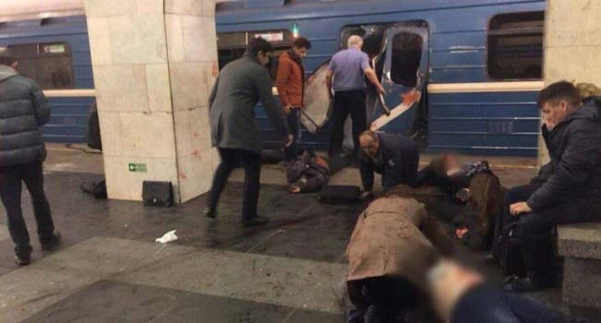 Live Updates: St. Petersburg explosion