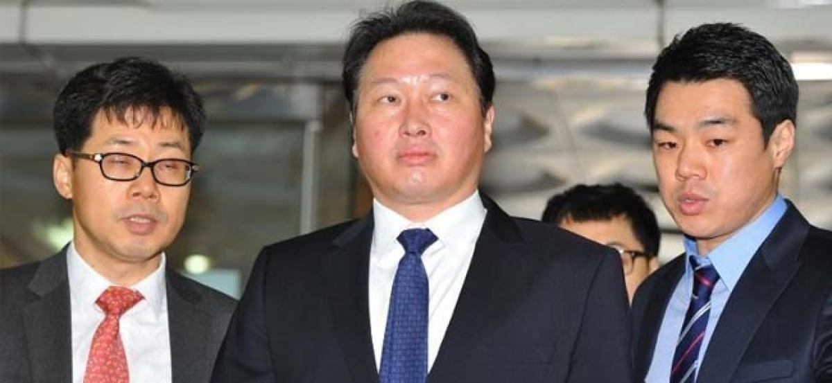 South Korea prosecutors to question SK Group chief in corruption probe