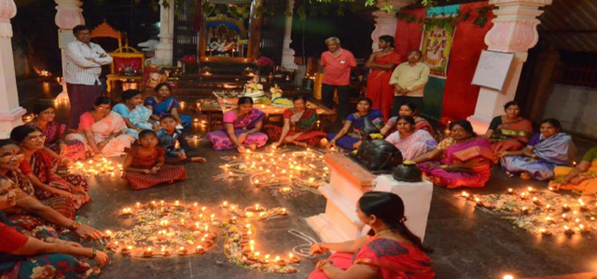 Devotees throng temples, perform special pujas