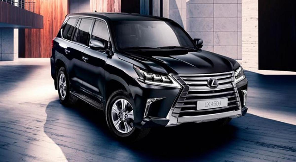 Lexus India debut in 2017; LX SUV to be launched.