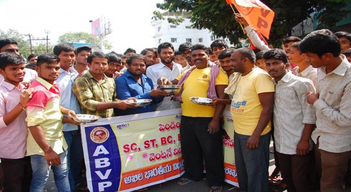 Students beg for release of fee dues