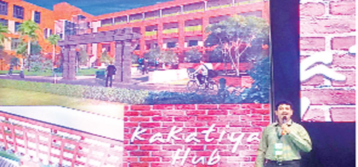 Kakatiya Hub, a rural incubator of its kind