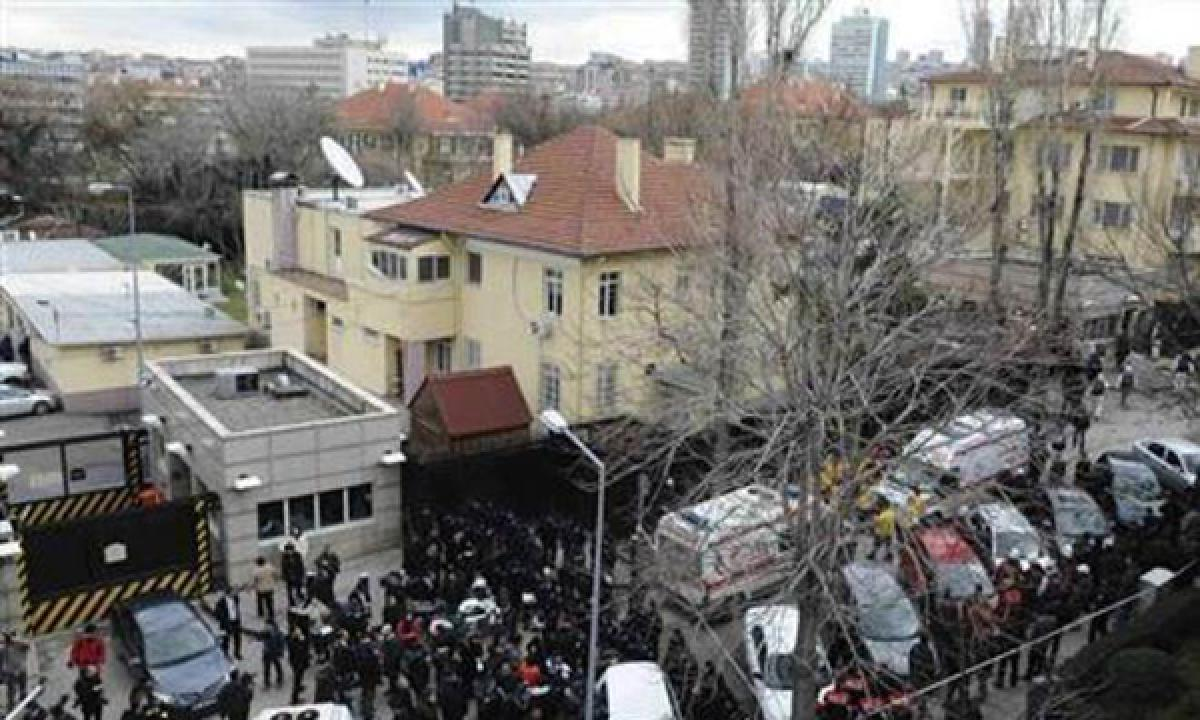 Shooting outside US embassy in Ankara, US closes its missions to Turkey