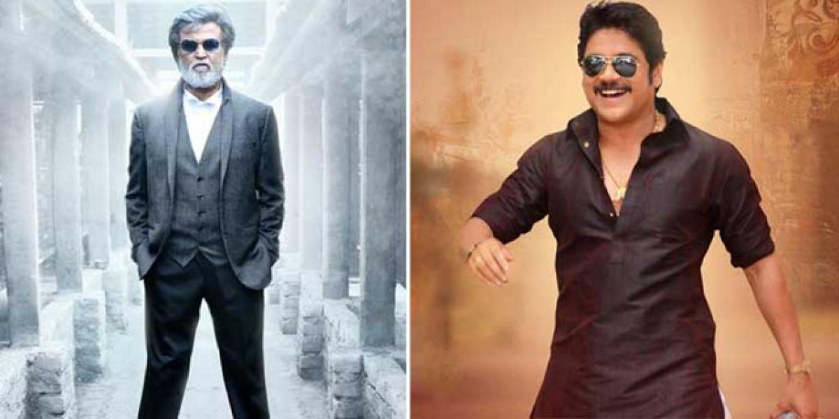 Rajinikanth-Nagarjuna team up for multi-starrer