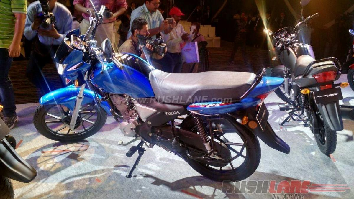 How much does Yamaha Saluto RX commuter bike cost in India?