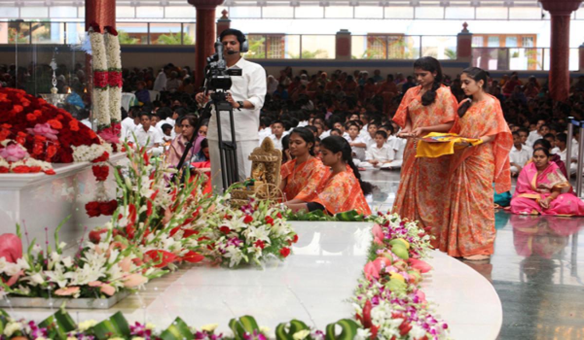 Photos: Holy Ganesh Chathurthi Celebrations at Prasanthi Nilayam