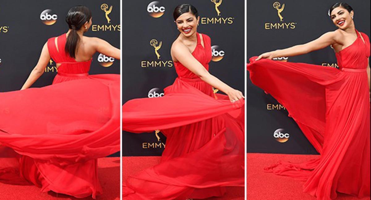 PeeCee felt princessy at Emmys