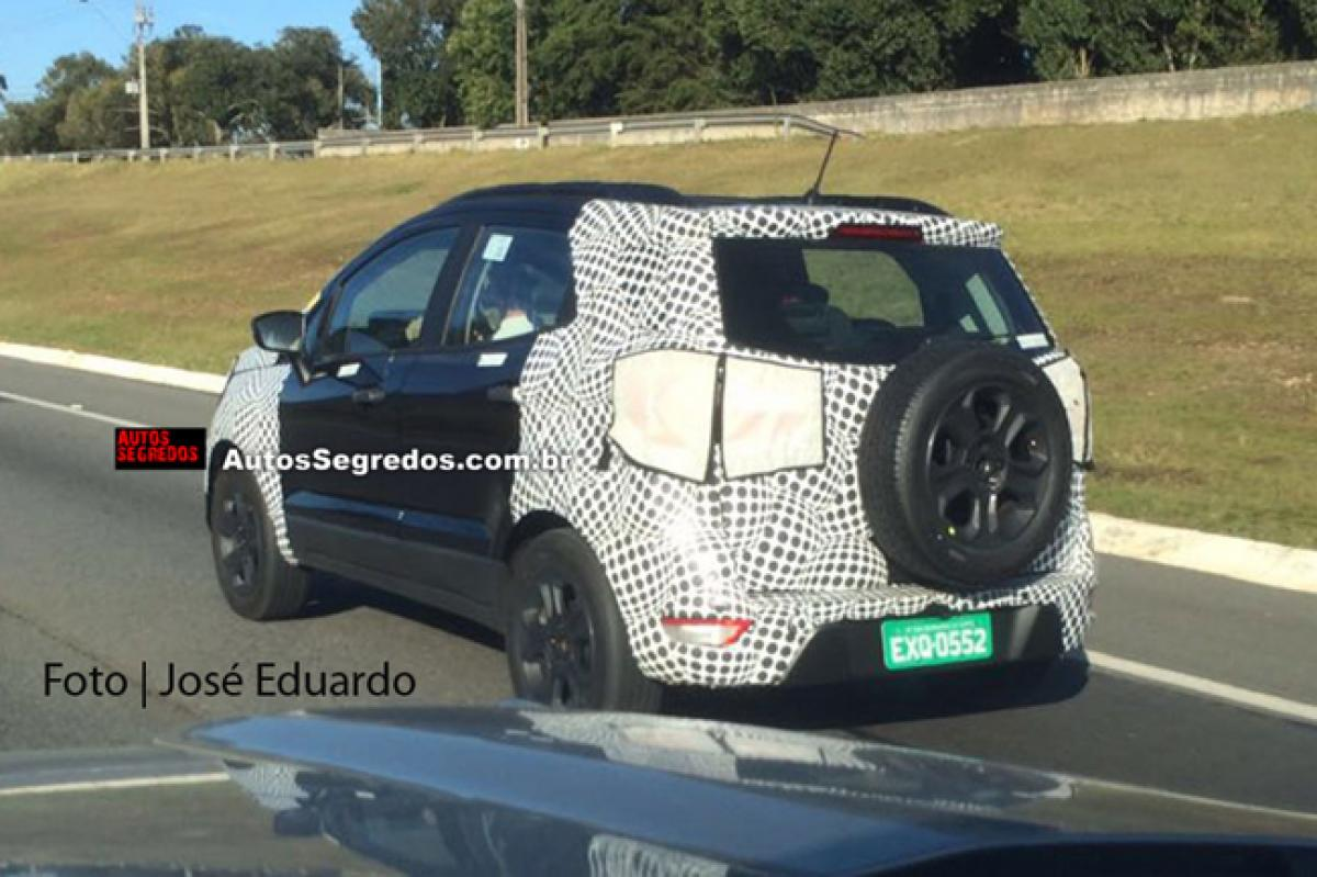Spotted: 2017 Ford EcoSport in Brazil