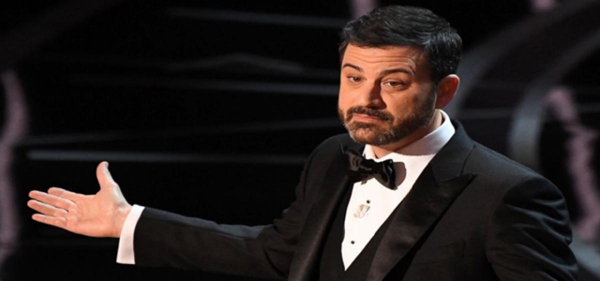 Kimmel turns emotional on son's heart surgery