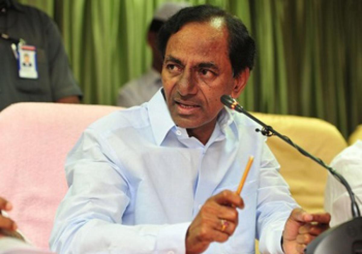 KCR slams Opposition over flak on Governors speech