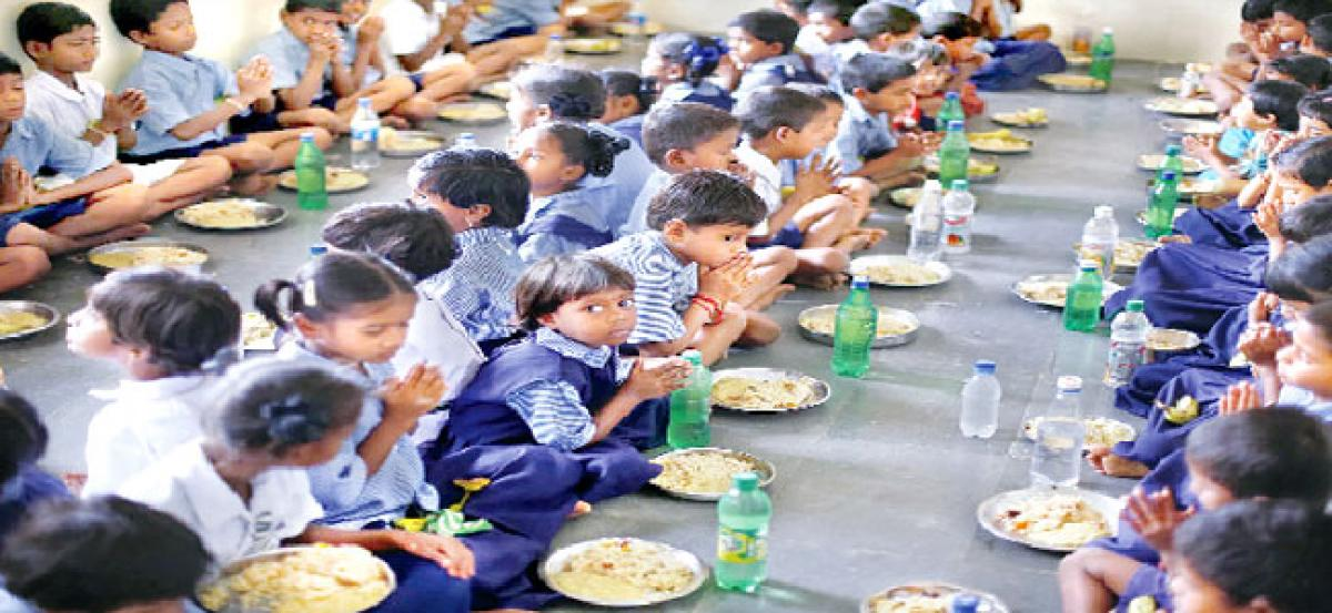 Government  fiat to schools: Provide mid-day meal from June 12