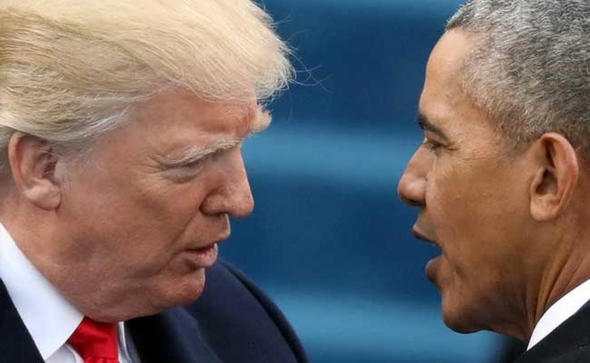 Barack Obama Denies President Donald Trump Allegations Of Wiretapping