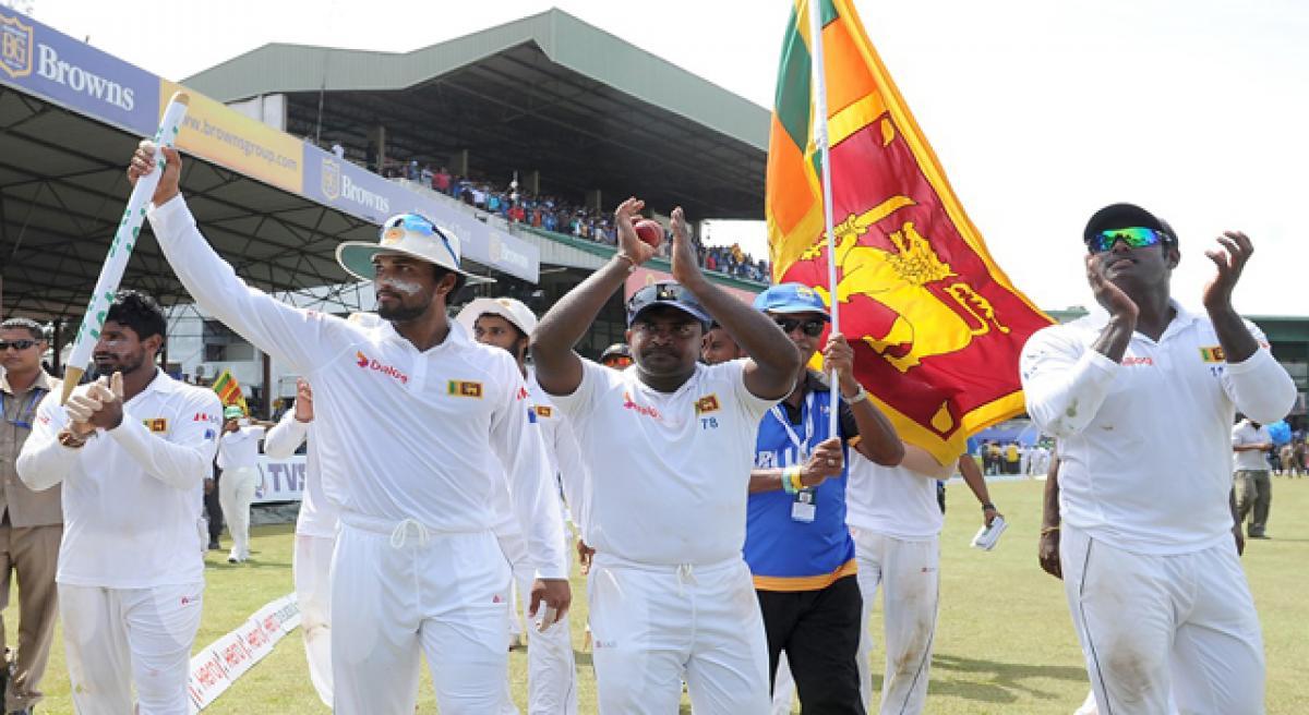 Sri Lanka clinch Test series.