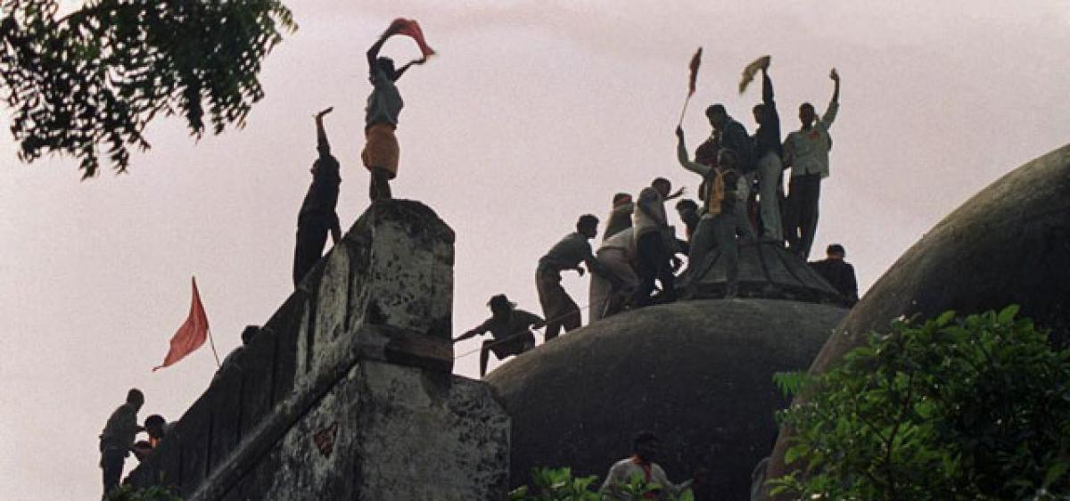 Ayodhya: SC for amicable settlement