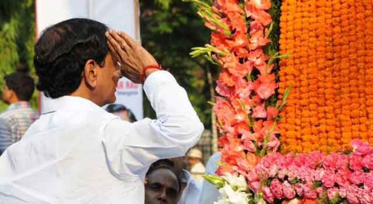 Jobs for the kin of Telangana martyrs