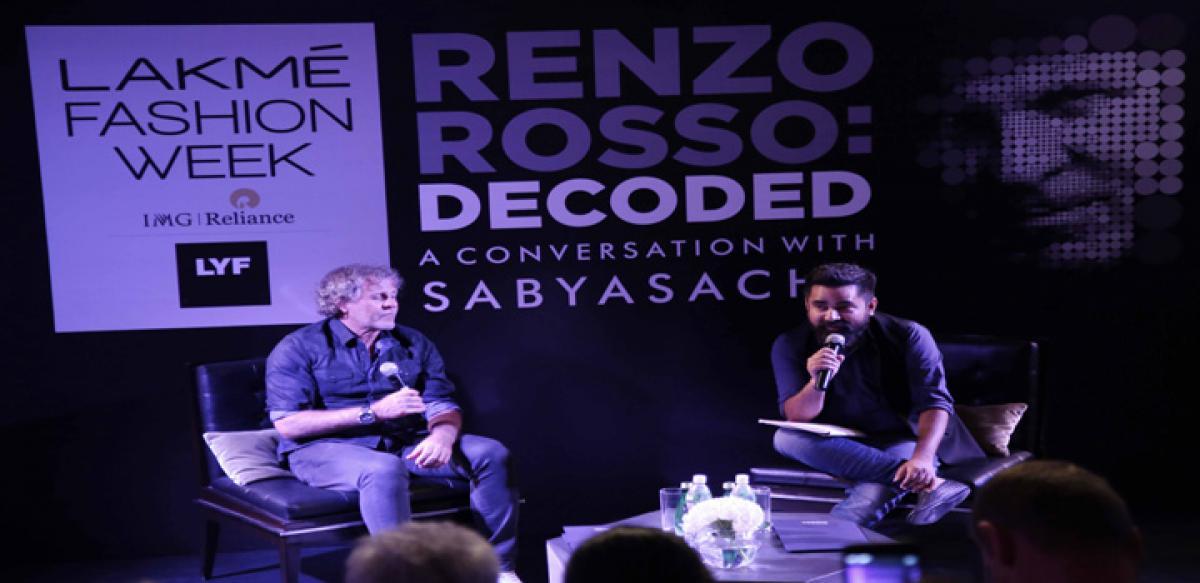 Sabyasachi decodes the brilliance of Jeans Genius