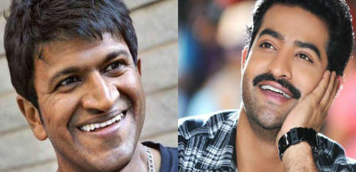 Puneeth Rajkumar Chakravyuhas title track sung by Jr NTR