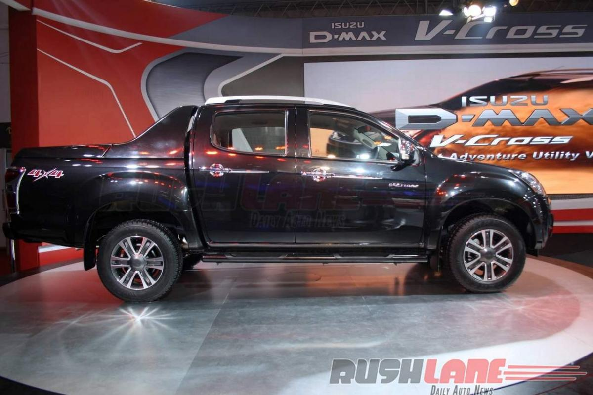 How much does Isuzu D Max V cross cost in India?