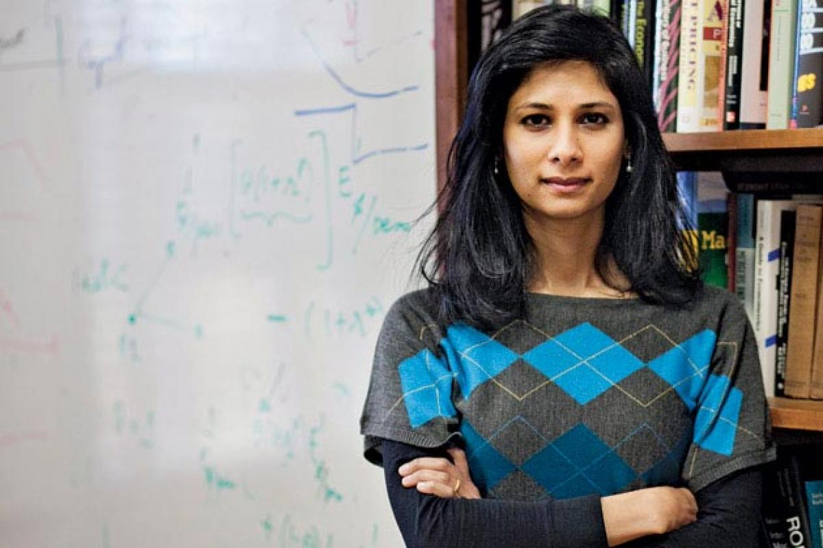 Gita Gopinath roots for India's 8% growth