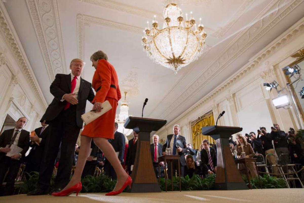 Mays mission to woo Trump a success, but makes some uneasy