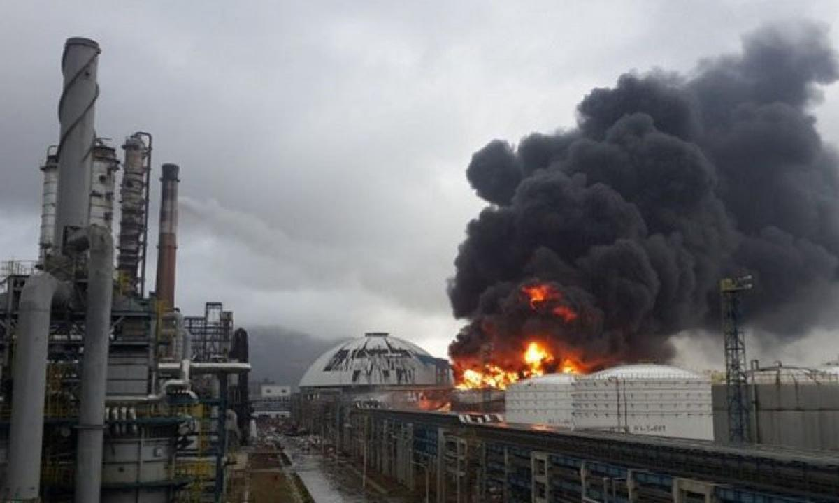 China: Two killed in chemical plant explosion
