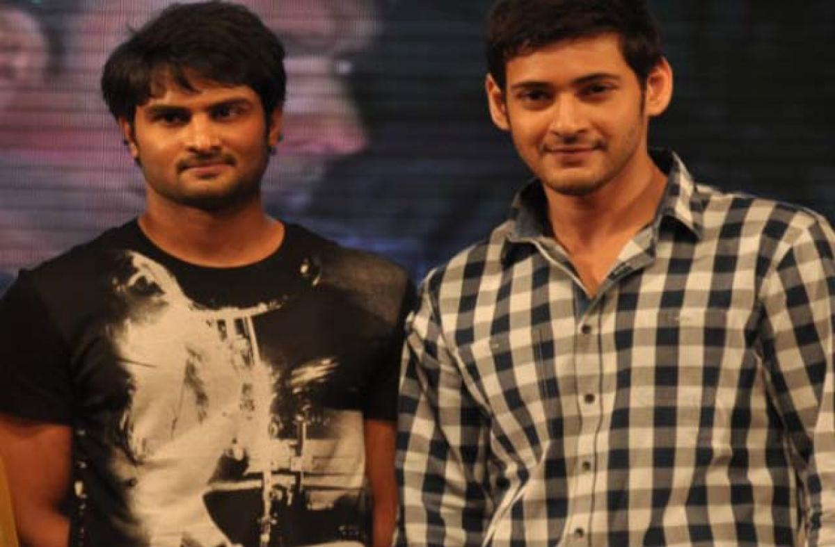 Sudheer Babu not doing Mahesh Babus movie
