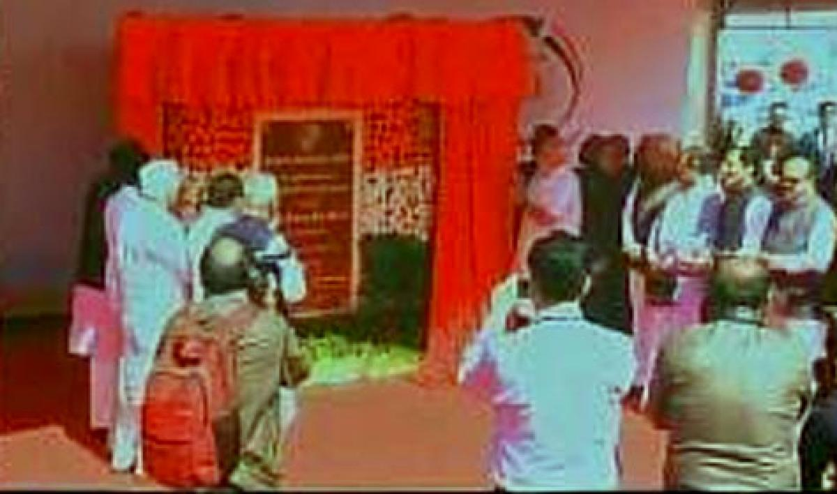 Tumkur: PM Modi lays foundation of HALs helicopter facility