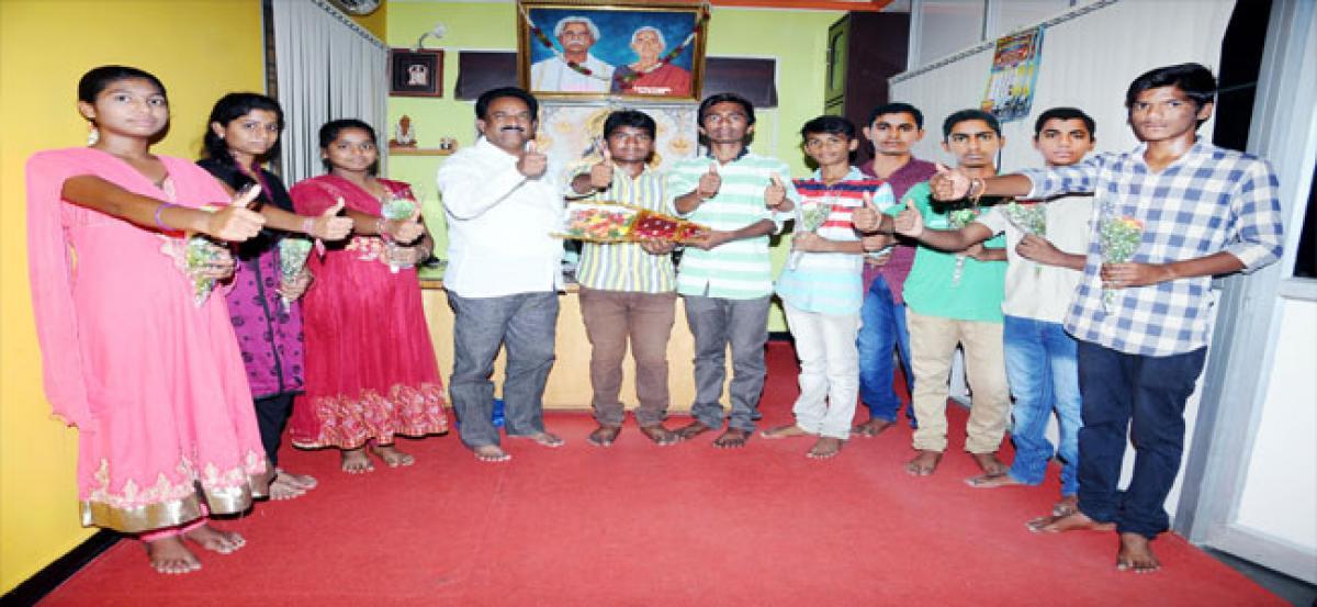 Pavan Concept School secures 100% results