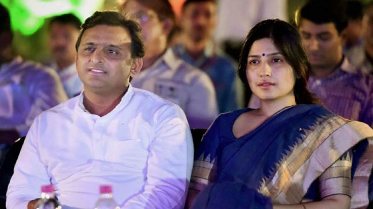 UP: After Amit Shah, Dimple Yadav comes up with new KASAB acronym