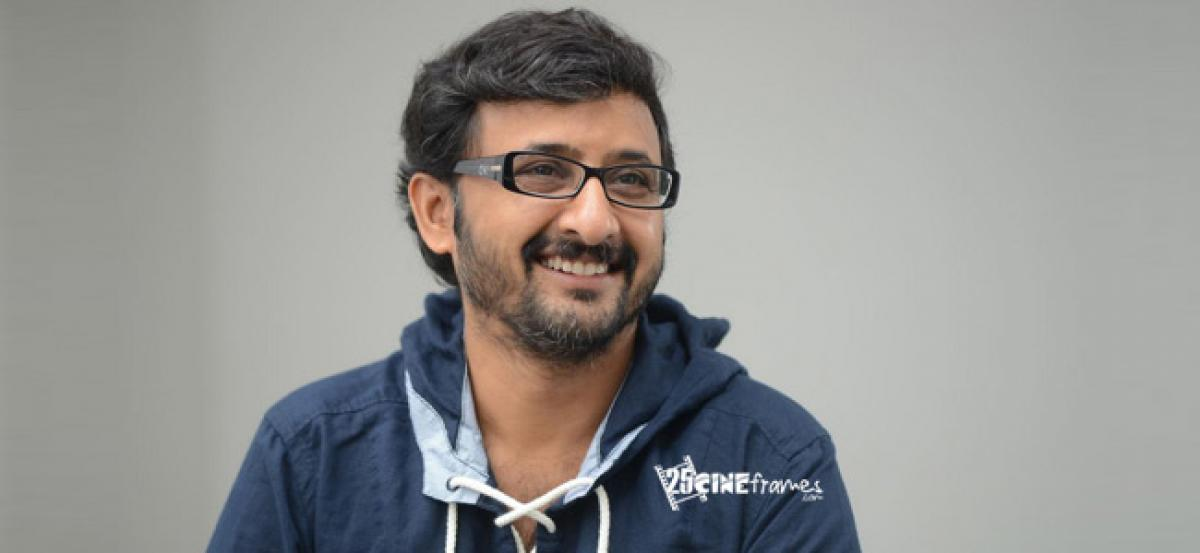 Fortunate to see a legend at work, says director Teja