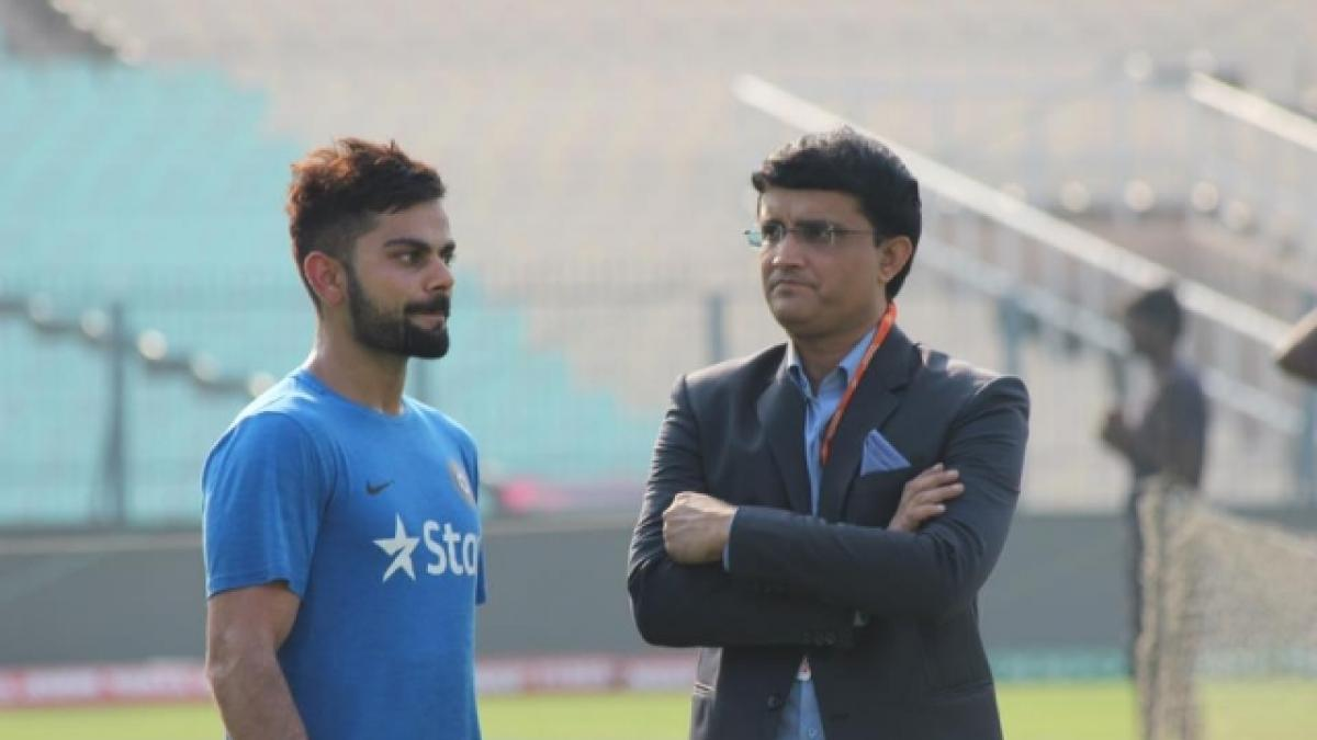 Kohli more aggressive than me, says Sourav Ganguly