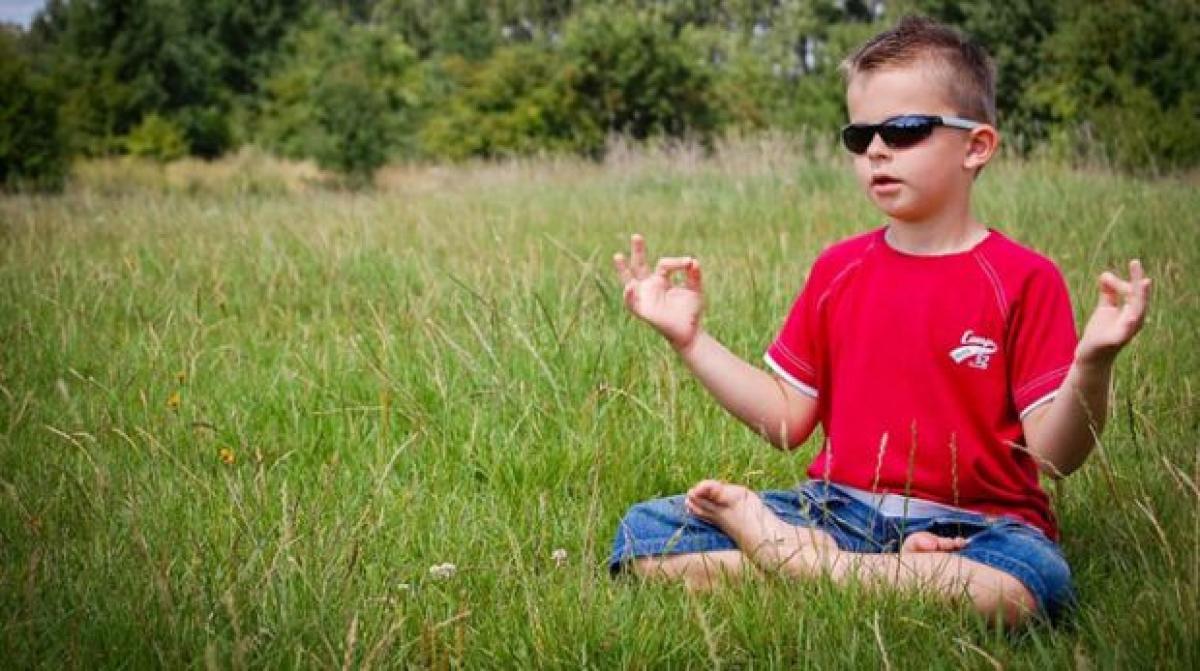 Mindfulness meditation at school de-stresses students