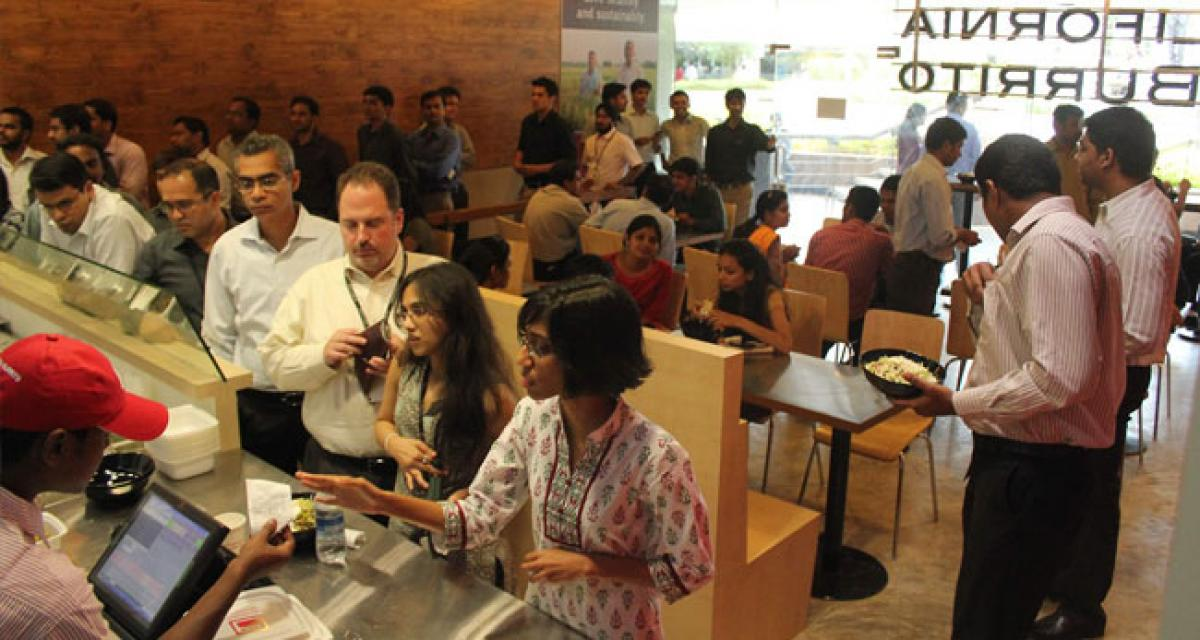 Fast-casual restaurant chain, California Burrito, raises money, plans to open 40 stores in India within 2 years