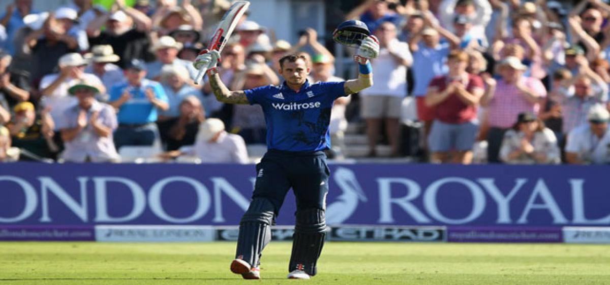 England post incredible 444 for three! Clinch series