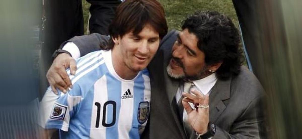 What Maradona achieved that Messi didnt