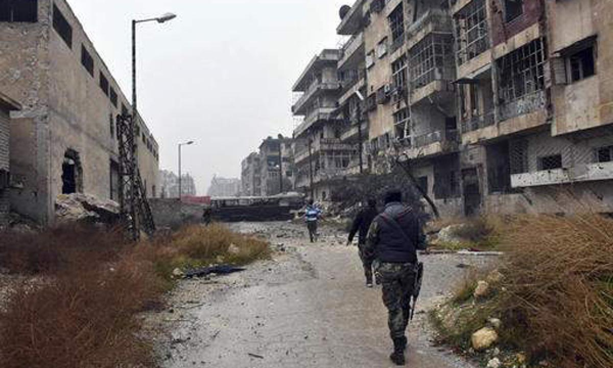 Syrian army resumes shelling of rebel-held parts of Aleppo says Monitor