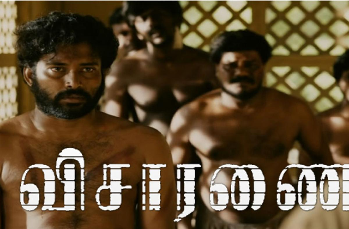 Visaaranai is absorbing, gut-wrenching and leaves you with a lump in your throat