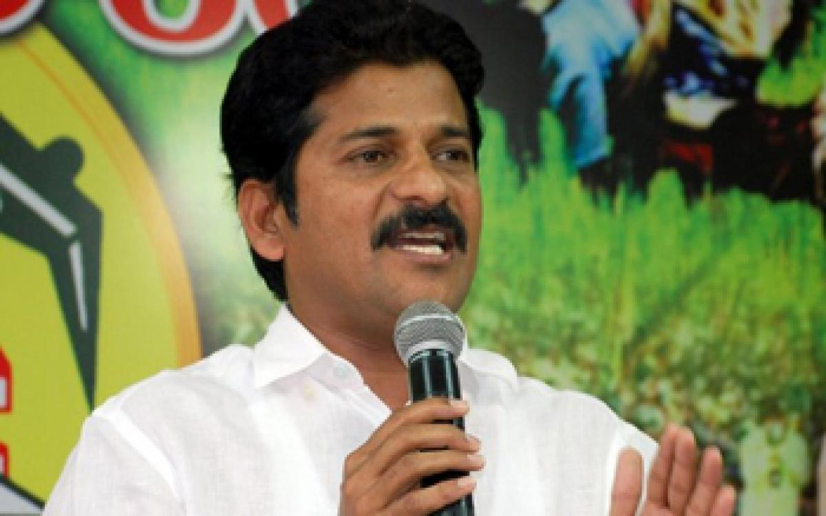 Revanth Reddy slams rumours of joining Congress