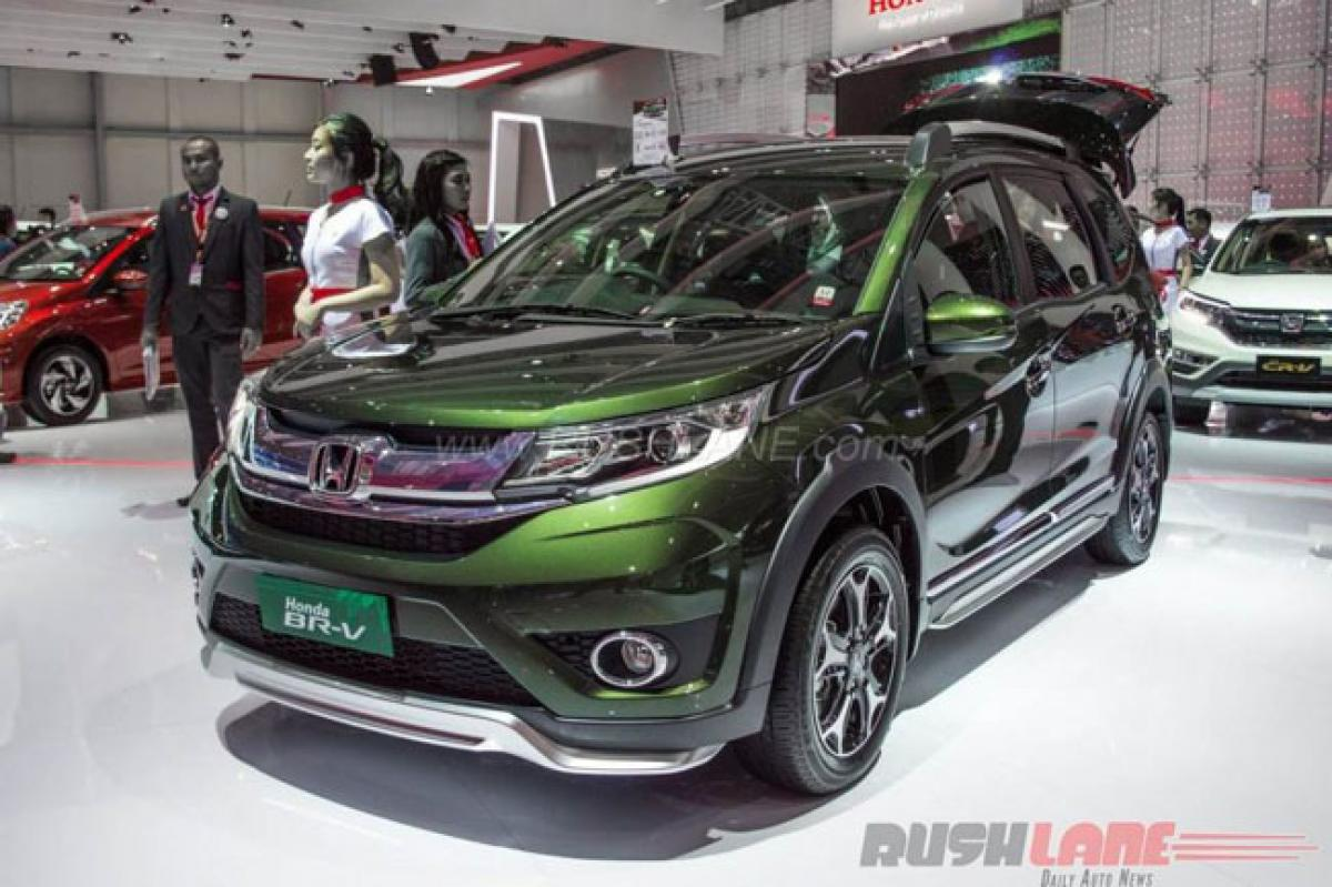 Honda BR-V, BR-V Modulo stand out at Indonesia Auto Show