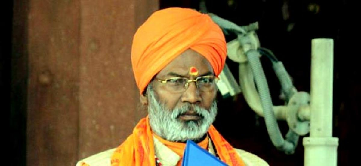 Sakshi Maharaj stirs row over graveyards for Muslims; RJD, CPI demand action against communal remark
